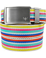 SlideBelts Women's Canvas Ratchet Belts - Custom Fit