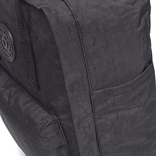36 Damen Green Casual Daypack 8081AG1 Handtasche Rucksäcke Bereal Tagesrucksack cm Arbeit Black Lässige für Rektech lässigen 8081bk1 Schule täglich,Rucksäcke wOHvpPq
