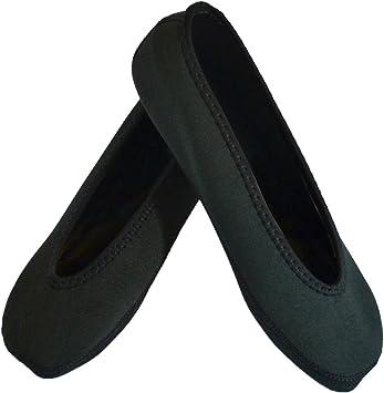 Amazon.com: Nufoot plana zapatillas de ballet de mujer, 172M ...