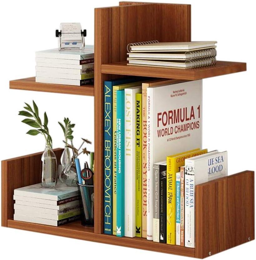 Amazon Com Jcnfa Shelves Desktop Shelf Diy Desktop Storage Rack Independent Bookshelf Store Books Wooden Bookshelf Color Brown Size 401740cm Kitchen Dining