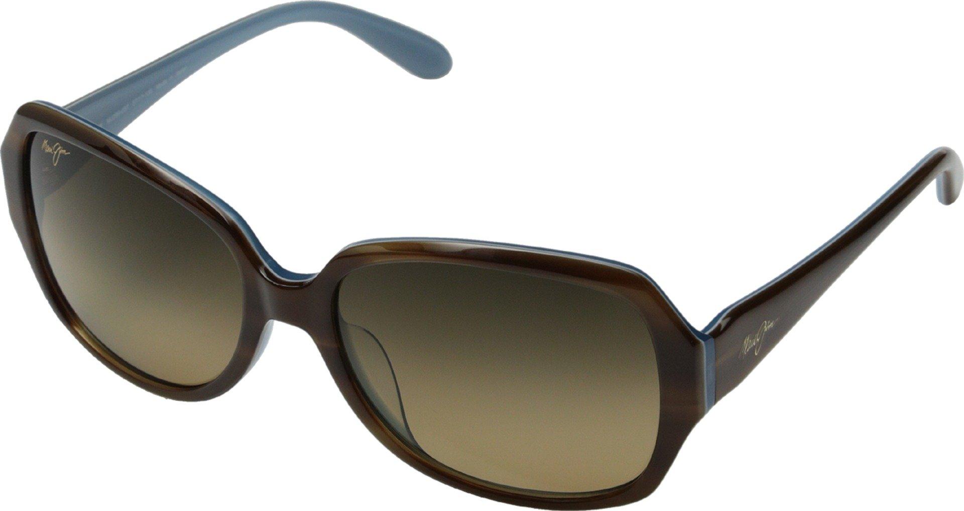 Maui Jim Womens Kalena 57 Sunglasses (299) Brown/Bronze Acetate - Polarized - 57mm