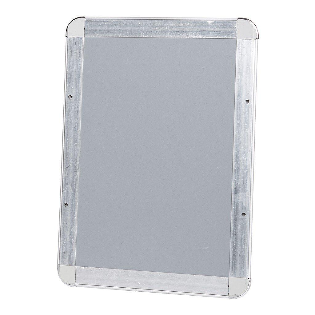 Klapprahmen Plakatrahmen Posterrahmen DIN A2 Rondo 25 mm Profil Silber eloxiert aus Alu