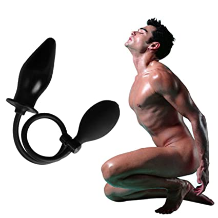 Dulexo Juguetes sexuales Dilatación anal con una bomba de mango para adultos (negro)
