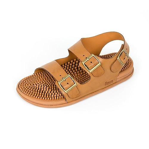 3634a326d Revs Reflexology Massage Trek Sandals for Men   Women. Enjoy The Benefits  of Reflexology in a Shoe. Walk Your Way to Well-Being with a Daily Foot  Massage  ...