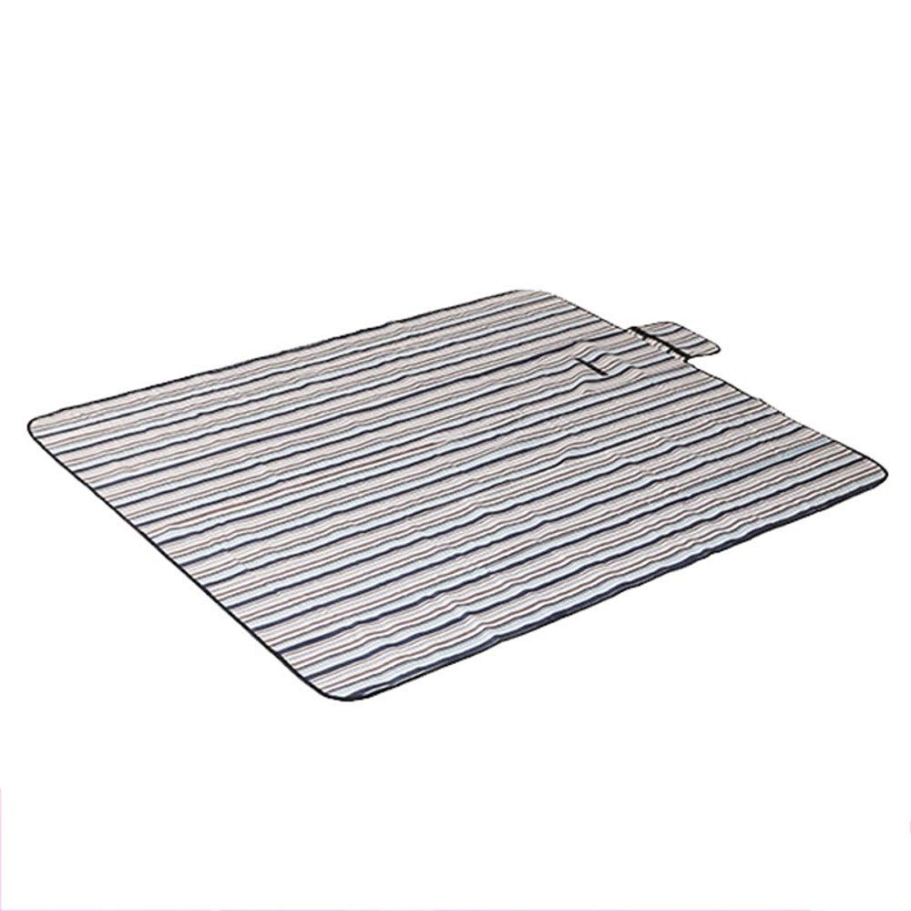 ROIY Outdoor Picnic Mat 1.51.8 M Oxford Cloth Mats Crawling Beach Mats Camping Multifunctional Floor Mats (Color : Pine and Cypress White Snow) by ROIY
