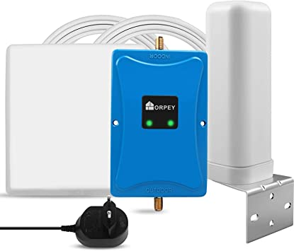 Amplificador de señal LTE 4G Repetidores gsm Movistar Orange Yoigo Vodafone Repetidor gsm 900MHz (Banda 8) LTE 800MHz(Banda 20) para Llamadas y Datos ...