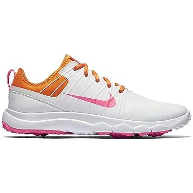 classic fit 0b6a9 305a1 Nike WMNS FI Impact 2, Chaussures de Golf Femme, Blanc Cassé-Blanco (