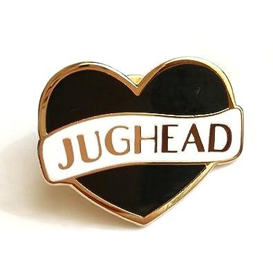 JUGHEAD Jones sur serpientes corazón duro esmalte Pin mariposa embrague (Riverdale inspirado Fan Art)