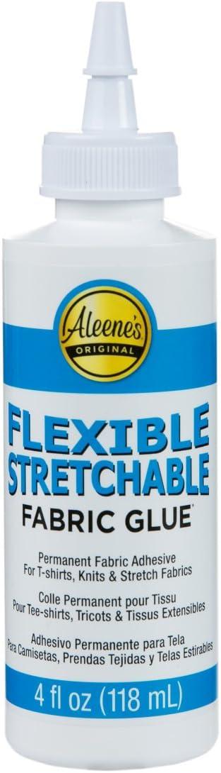 Aleene's 15592 FLEXABLE Stretchable Glue 4OZ. 36.CS, Multicolor, 4 Fl Oz