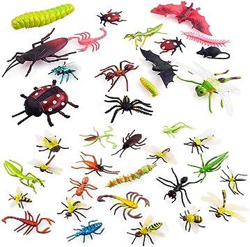 Coloré Lot 12PCS Petit Papillon Plastique Figures Jouet Cadeau pour Enfant