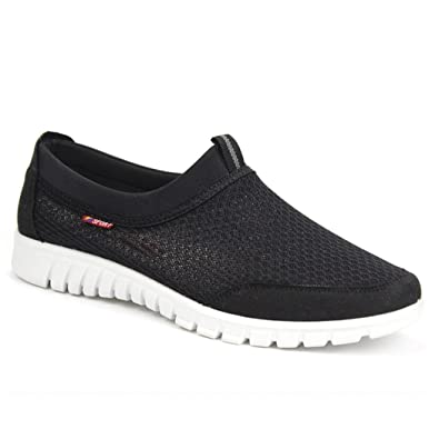 Dog Paw Men Fashion Athletic Shoes Quick Drying Slip-On Loafers Shoes
