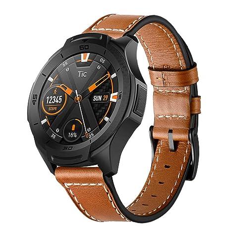 Aresh - Correa de reloj para Samsung Gear S3 Frontier y Classic; recambio de piel