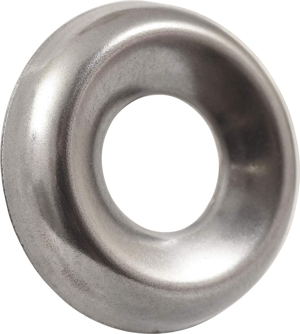 The Hillman Group 8860 Number 12 Stainless Steel Finish Washer 6-Pack