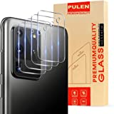 [4-Pack] PULEN Camera Lens Protector for Samsung Galaxy S20 Ultra 5G (Not for Note 20 Ultra),9H Hardness Tempered Glass HD Cl