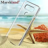 LG G6 Back Cover Perfect Fit High Quality Flexible Full Protection 100% Brand New Soft Silicon Transparent Full Degree of Protection Ultra Clear Case by Marshland®