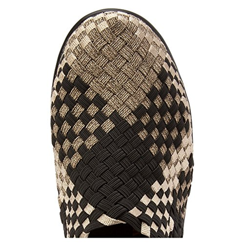 Bernie Combo Bronze Pump Women's Wedge Gem Mev rH0FSq1r