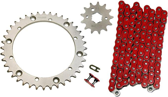 Red 520x98 O-Ring Drive Chain 1989-2004 Yamaha Warrior 350 YFM350X