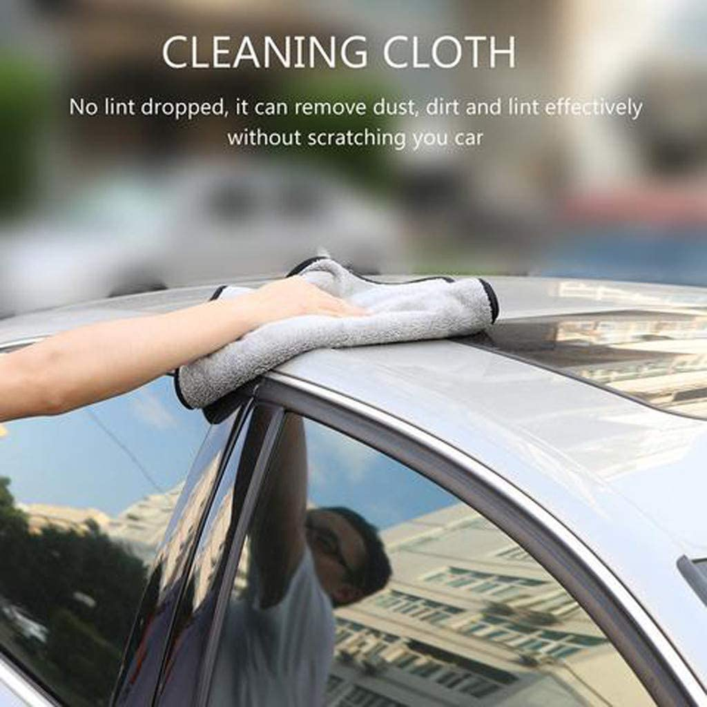 Woolly Mammoth Microfiber Dryer Towel Premium Plush Microfiber Towel Professional Car Wash Drying Cleaning Drying Towel for car//Home /& Garden Cleaning Supplies DUOYOMI The Royal Plush Drying Towel
