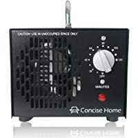 Concise Home Comercial Ozono isator 3500MG 03, Industrial Ozono purificador de aire, Negro, aire arenosos, aire Esterilizador Ozone Generador