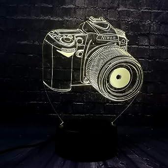 Nueva luz de la noche del LED 3D para la cámara decorativa del ...