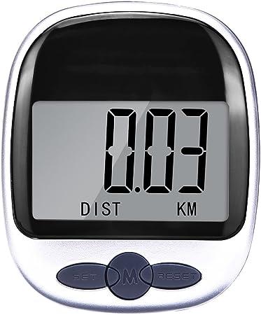 LCD Display Waterproof Step Pedometer Sport Calorie Counter Walking Distance