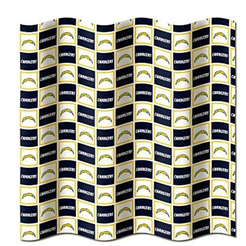 Northwest Enterprises San Diego Chargers NFL Fabric Shower Curtain (72x72)