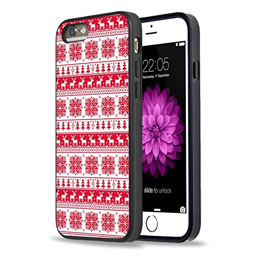 new products be851 b2924 iPhone SE Case,Apple iPhone 5S SE Black Case Personalized Design Black Cell  Phone Case Snowflakes and elk Tile