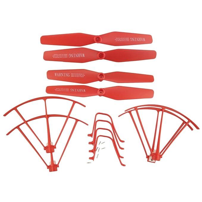 Sharplace Set de Drone Propellers Tren de Aterrizaje Protector ...