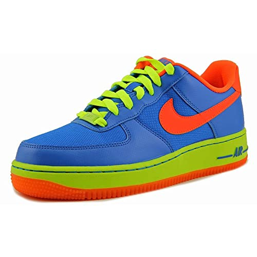 best loved adc12 8a0c4 Nike Air Force 1 Low GS Bambini US 6 Blu Scarpe Ginnastica