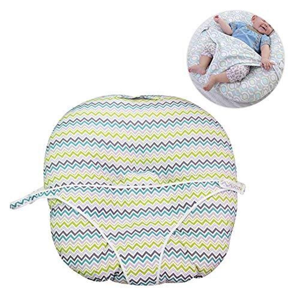 ETERLY Baby Newborn Pillow Anti Flat Head Syndrome Reflux Wedge Elevated Support Nursing Pillow Breastfeeding Maternity Pillow by ETERLY