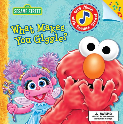 Bendon Publishing What Makes You Giggle? With Sound Giggle Elmo