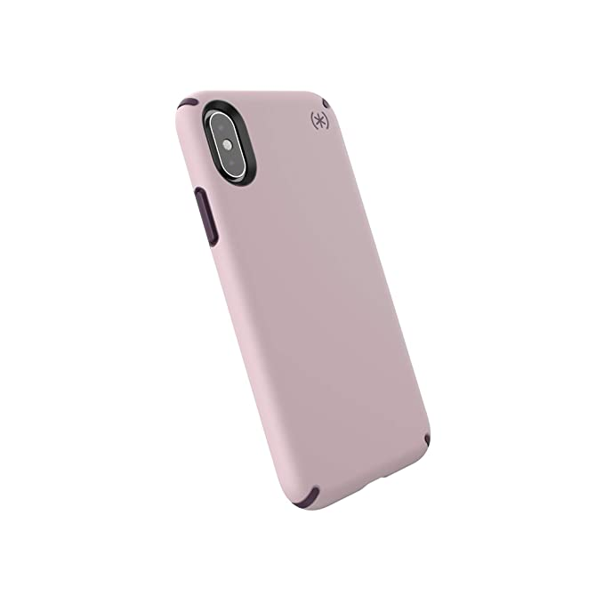 check out 624f4 5df14 Speck Products Presidio Pro iPhone Xs/iPhone X Case, Meadow Pink/Vintage  Purple