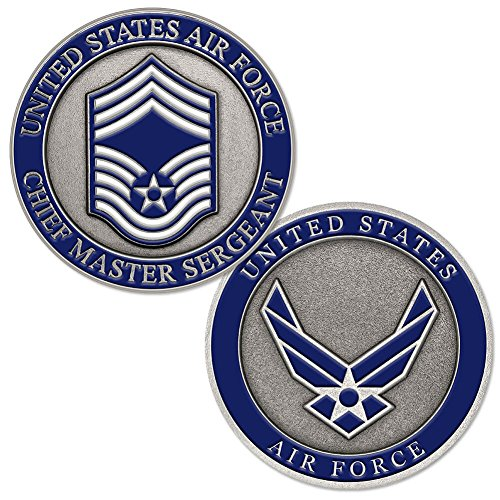 U.S. Air Force Chief Master Sergeant Challenge Coin ()