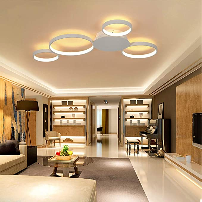WSYYWD Araña de luces Lámpara de araña redonda clásica Ac85 265v ...