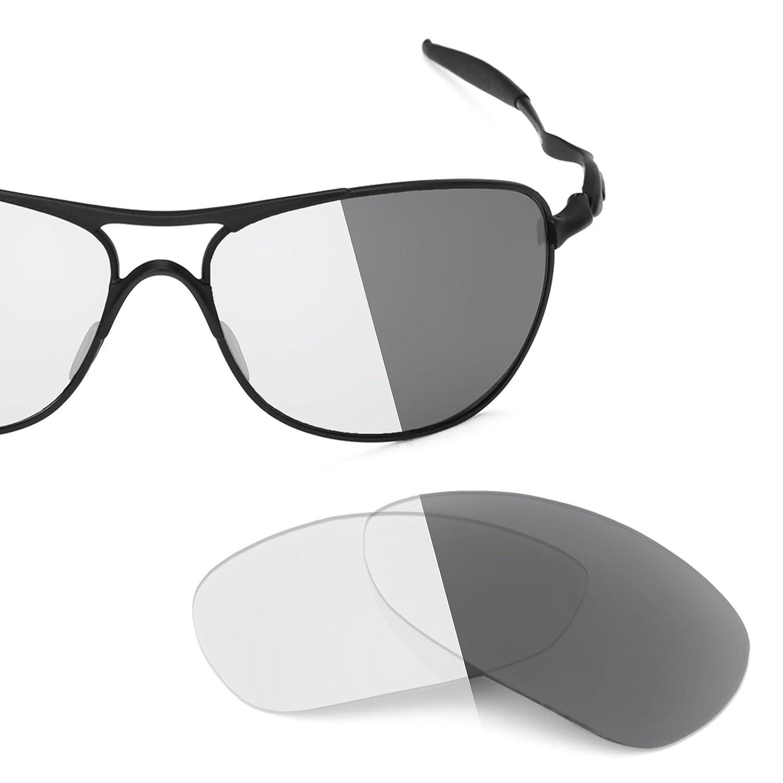 f5eb936f715 Revant Replacement Lenses for Oakley Crosshair (2012) Elite Adapt Grey  Photochromic  Amazon.co.uk  Clothing