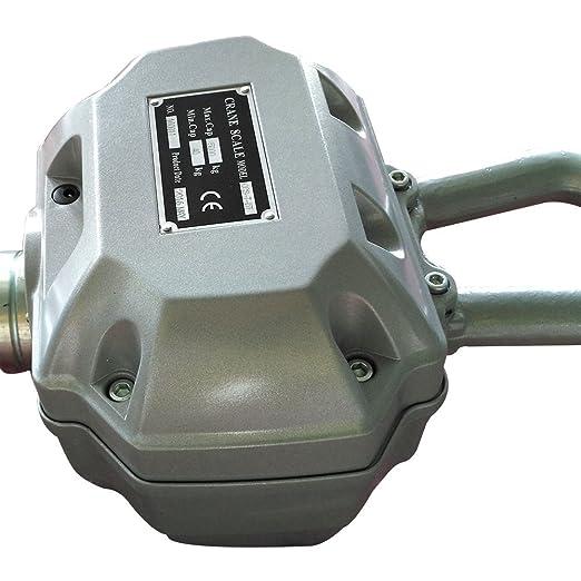 5000 kg Escala de grúa Electrónica Báscula Digital de Grúa con Gancho para Pesca Industrial con batería y mando a distancia: Amazon.es: Bricolaje y ...