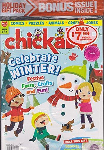 Chickadee Magazine Winter 2017 Holiday Gift -