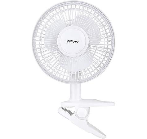 Ventilador / Circulador de aire oscilante con clip pinza - 15cm ...