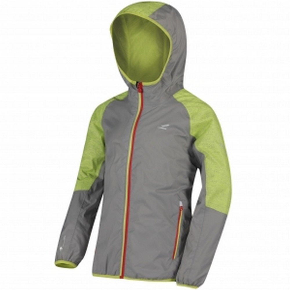 8394a0ae9 Regatta Great Outdoors Childrens/Kids Teega Reflective Waterproof Hooded  Jacket: Amazon.co.uk: Clothing