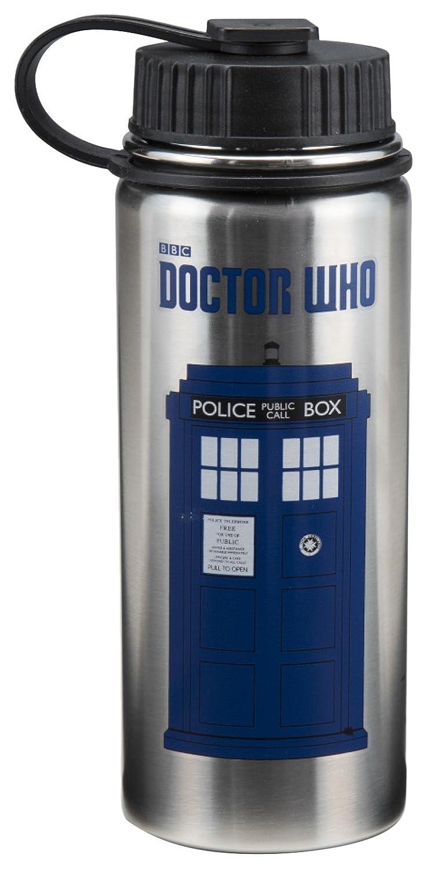 Botella de agua de acero inoxidable – Doctor Who – Martillo de nuevo con licencia 16009