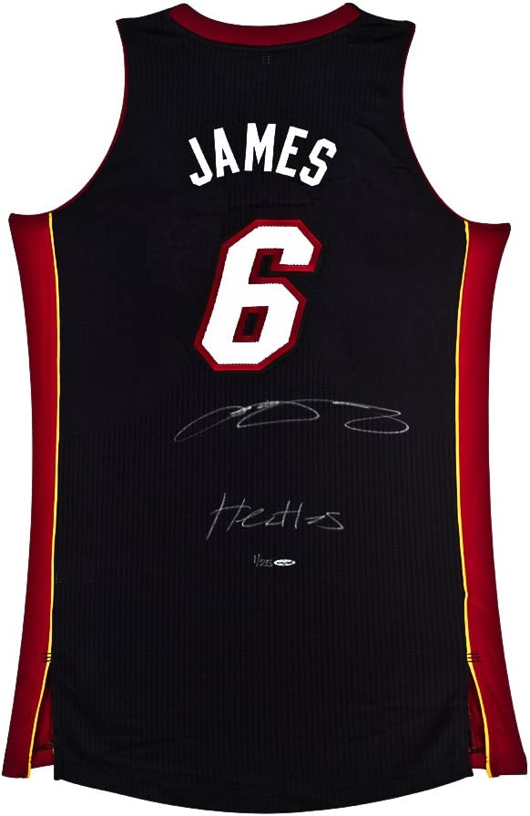 Lebron James Signed Inscribed Miami Heat Authentic Away Jersey Uda Limited To 25 At Amazon S Sports Collectibles Store