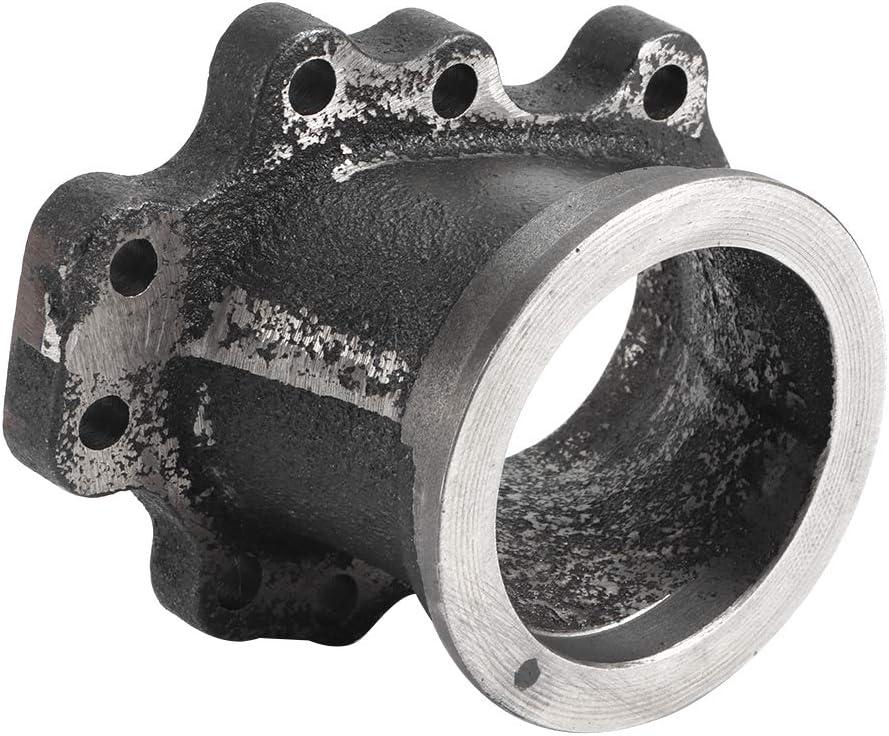 Turbo de conversion de bride d/échappement adaptateur de bande en V de conversion de bride de d/écharge en acier inoxydable KIMISS 2,5 pouces 63 mm pour T25 GT25 GT28