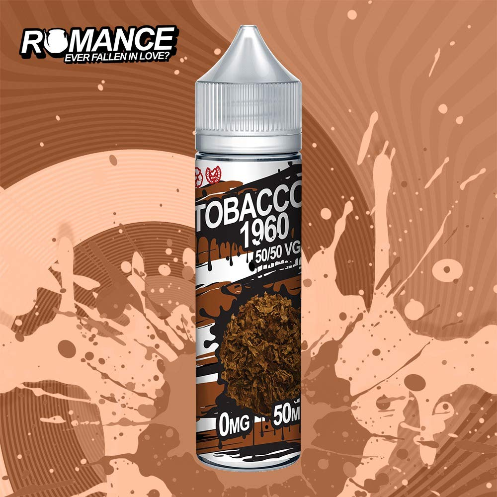 Romance e Liquid Vape Juice 10 fantásticos sabores ricos 50ML 0MG 50/50 PG/VG, sin nicotina (Strawberry & Kiwi)