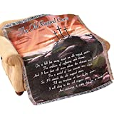 Collections Etc Rugged Cross Woven Tapestry Throw Blanket