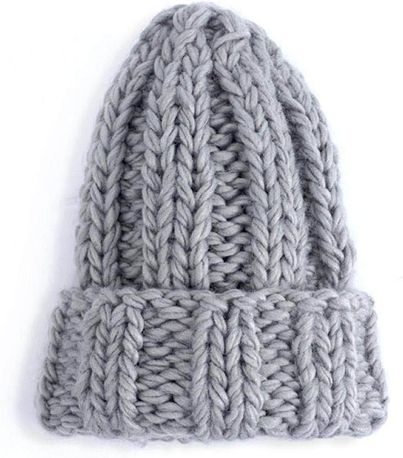 Knitted Hat Ladies Winter...