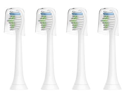 For Sonicare - Cabezales de recambio Compatible para cepillo de dientes  eléctrico Philips Sonicare b9c17a2dc1a3