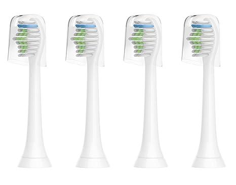 For Sonicare - Cabezales de recambio Compatible para cepillo de dientes eléctrico Philips Sonicare, DiamondClean