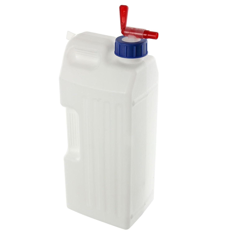 SPARES2GO Universal 3 litros de agua del tanque + estante del grifo dispensador de contenedor: Amazon.es: Hogar