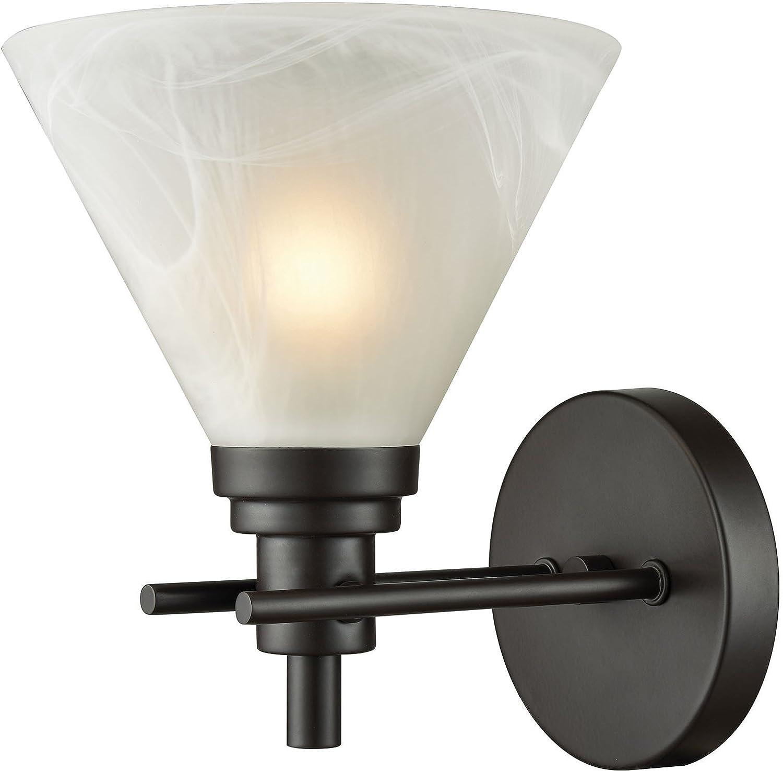 Elk lighting 12400 1 vanity lighting fixtures bronze amazon com