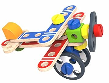 Tooky Toy Wooden Planes, Air Transport Toy, for Introducing Aeronautical  Knowledge, Set Planes for Toddler Kids